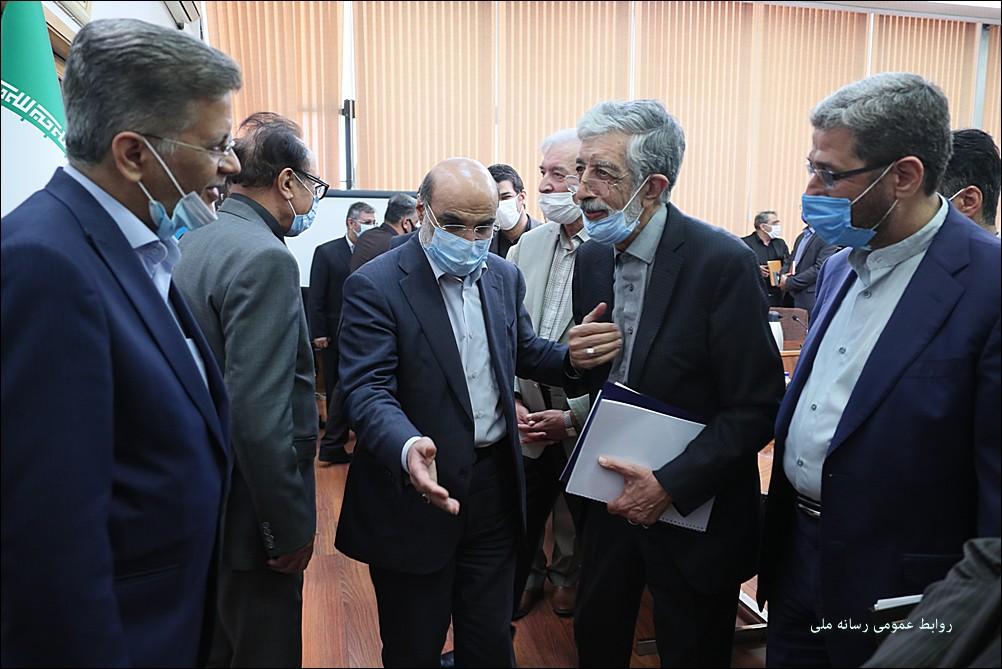 علی عسکری در دیدار با حدادعادل مطرح کرد؛ رسانه ملی حساس و هوشیار برای پاسداشت زبان فارسی