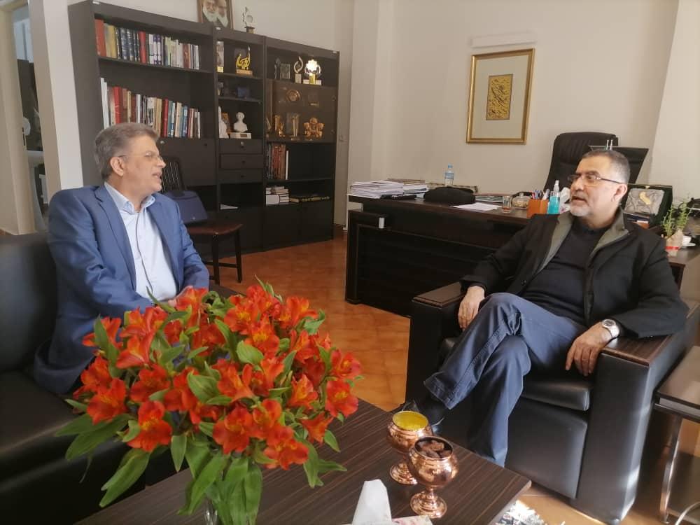دیدار مدیر شبکه آموزش سیما با دبیر کل کمسیون ملی یونسکو