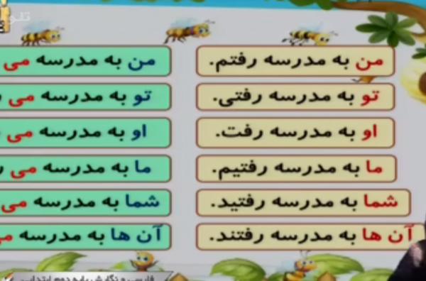 پایه دوم ابتدایی (شبکه آموزش) فارسی و نگارش - درس نهم - زیارت / ۲۸ دی